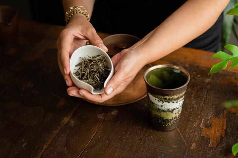 Degustazione tè in foglie