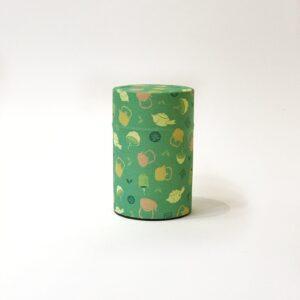 Scatola da tè decorata con carta washi stampata con teiere