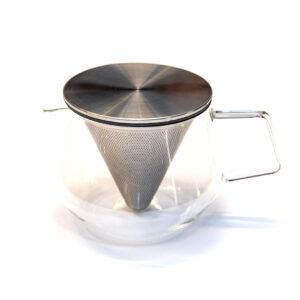 Teiera carat in pirex con filtro