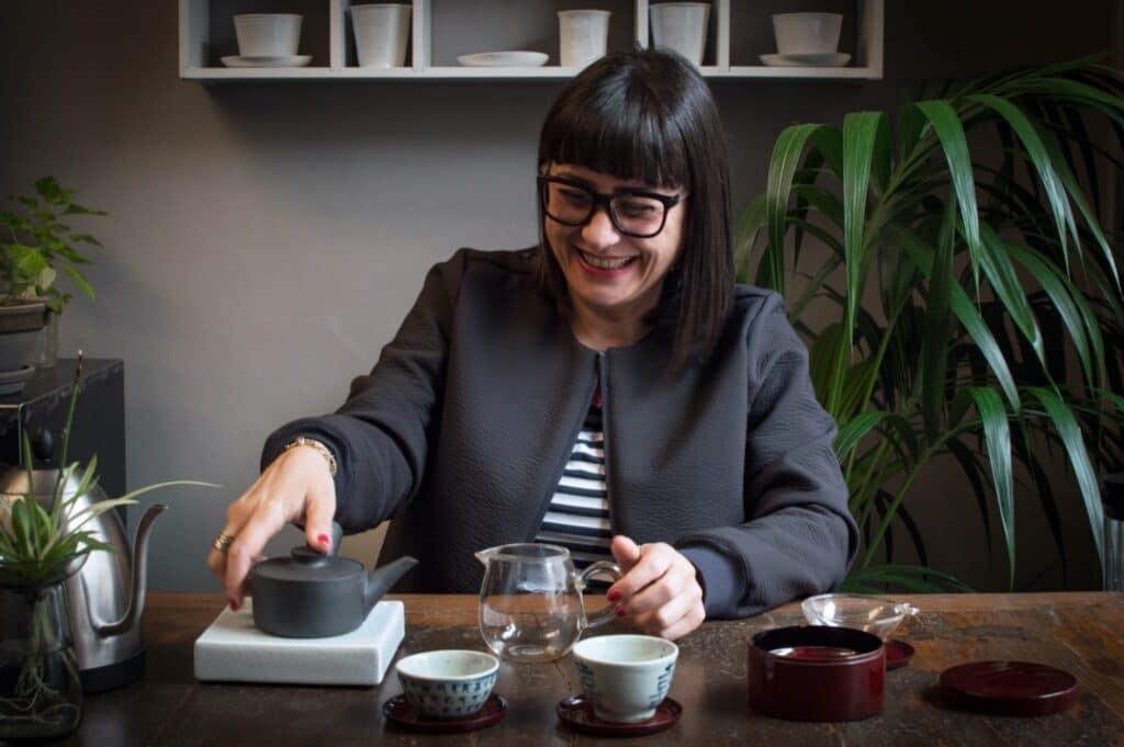 Alessandra Celi titolare Tè e teiere
