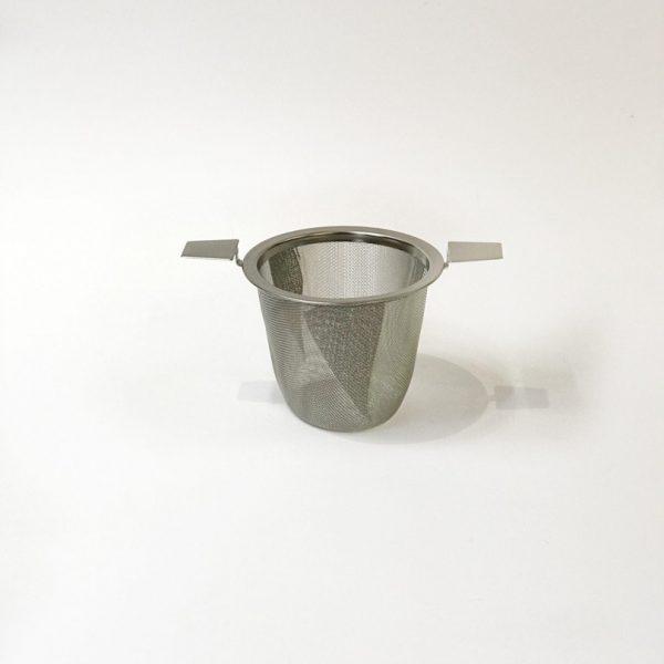 Filtro per tè a canestro in acciaio