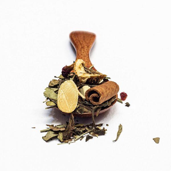Tè verde Natale