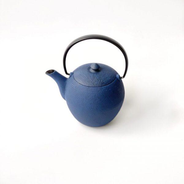 Teiera giapponese in ghisa blu da 300 ml